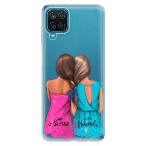 Odolné silikonové pouzdro iSaprio - Best Friends - Samsung Galaxy A12