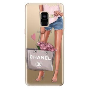 Odolné silikonové pouzdro iSaprio - Fashion Bag - Samsung Galaxy A8 2018