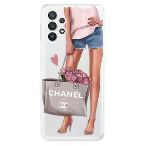 Odolné silikonové pouzdro iSaprio - Fashion Bag - Samsung Galaxy A32 5G