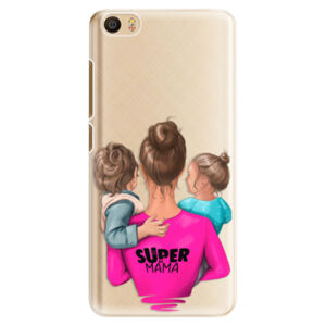 Plastové pouzdro iSaprio - Super Mama - Boy and Girl - Xiaomi Mi5