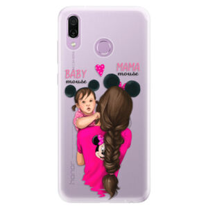 Silikonové pouzdro iSaprio - Mama Mouse Brunette and Girl - Huawei Honor Play