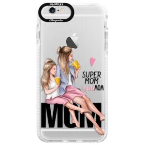 Silikonové pouzdro Bumper iSaprio - Milk Shake - Blond - iPhone 6 Plus/6S Plus