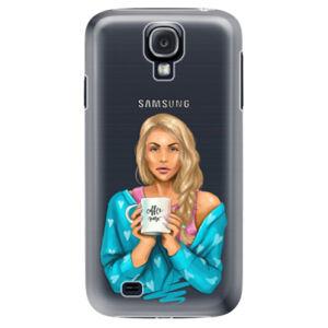 Plastové pouzdro iSaprio - Coffe Now - Blond - Samsung Galaxy S4