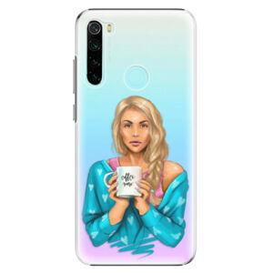 Plastové pouzdro iSaprio - Coffe Now - Blond - Xiaomi Redmi Note 8