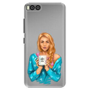 Plastové pouzdro iSaprio - Coffe Now - Redhead - Xiaomi Mi6