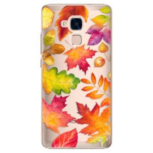 Plastové pouzdro iSaprio - Autumn Leaves 01 - Huawei Honor 7 Lite