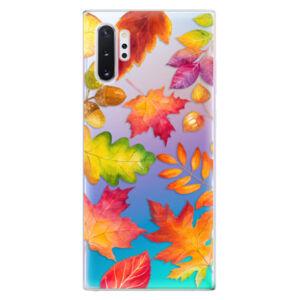 Odolné silikonové pouzdro iSaprio - Autumn Leaves 01 - Samsung Galaxy Note 10+