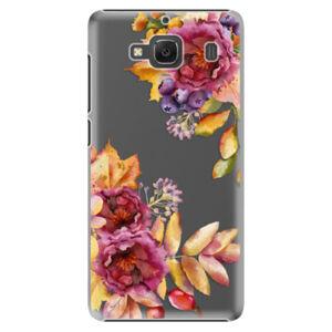 Plastové pouzdro iSaprio - Fall Flowers - Xiaomi Redmi 2