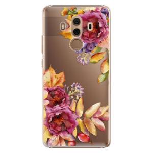 Plastové pouzdro iSaprio - Fall Flowers - Huawei Mate 10 Pro