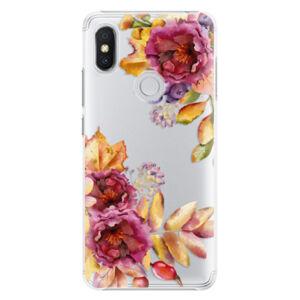 Plastové pouzdro iSaprio - Fall Flowers - Xiaomi Redmi S2