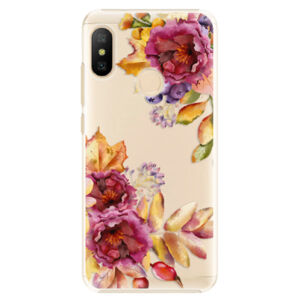 Plastové pouzdro iSaprio - Fall Flowers - Xiaomi Mi A2 Lite