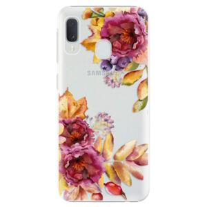 Plastové pouzdro iSaprio - Fall Flowers - Samsung Galaxy A20e