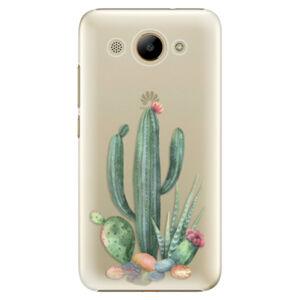 Plastové pouzdro iSaprio - Cacti 02 - Huawei Y3 2017