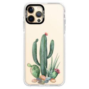 Silikonové pouzdro Bumper iSaprio - Cacti 02 - iPhone 12 Pro Max