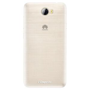 Silikonové pouzdro iSaprio - 4Pure - mléčný bez potisku - Huawei Y5 II / Y6 II Compact