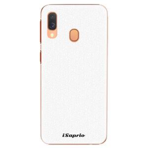 Plastové pouzdro iSaprio - 4Pure - bílý - Samsung Galaxy A40