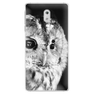 Plastové pouzdro iSaprio - BW Owl - Nokia 3