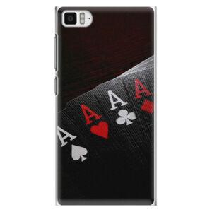 Plastové pouzdro iSaprio - Poker - Xiaomi Mi3