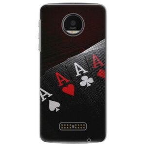 Plastové pouzdro iSaprio - Poker - Lenovo Moto Z