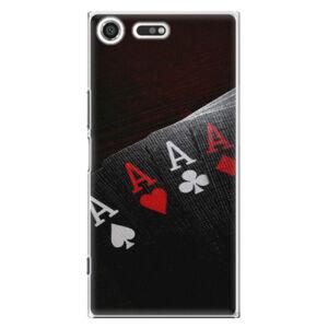 Plastové pouzdro iSaprio - Poker - Sony Xperia XZ Premium