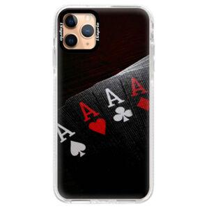 Silikonové pouzdro Bumper iSaprio - Poker - iPhone 11 Pro Max