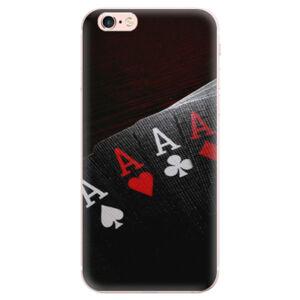 Odolné silikonové pouzdro iSaprio - Poker - iPhone 6 Plus/6S Plus