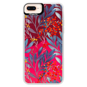 Neonové pouzdro Pink iSaprio - Rowanberry - iPhone 8 Plus
