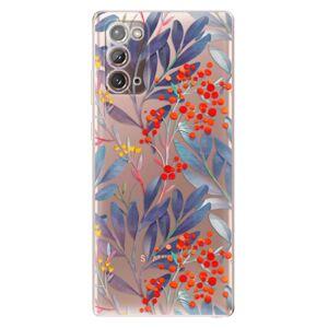 Odolné silikonové pouzdro iSaprio - Rowanberry - Samsung Galaxy Note 20