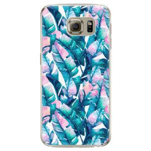Plastové pouzdro iSaprio - Palm Leaves 03 - Samsung Galaxy S6 Edge